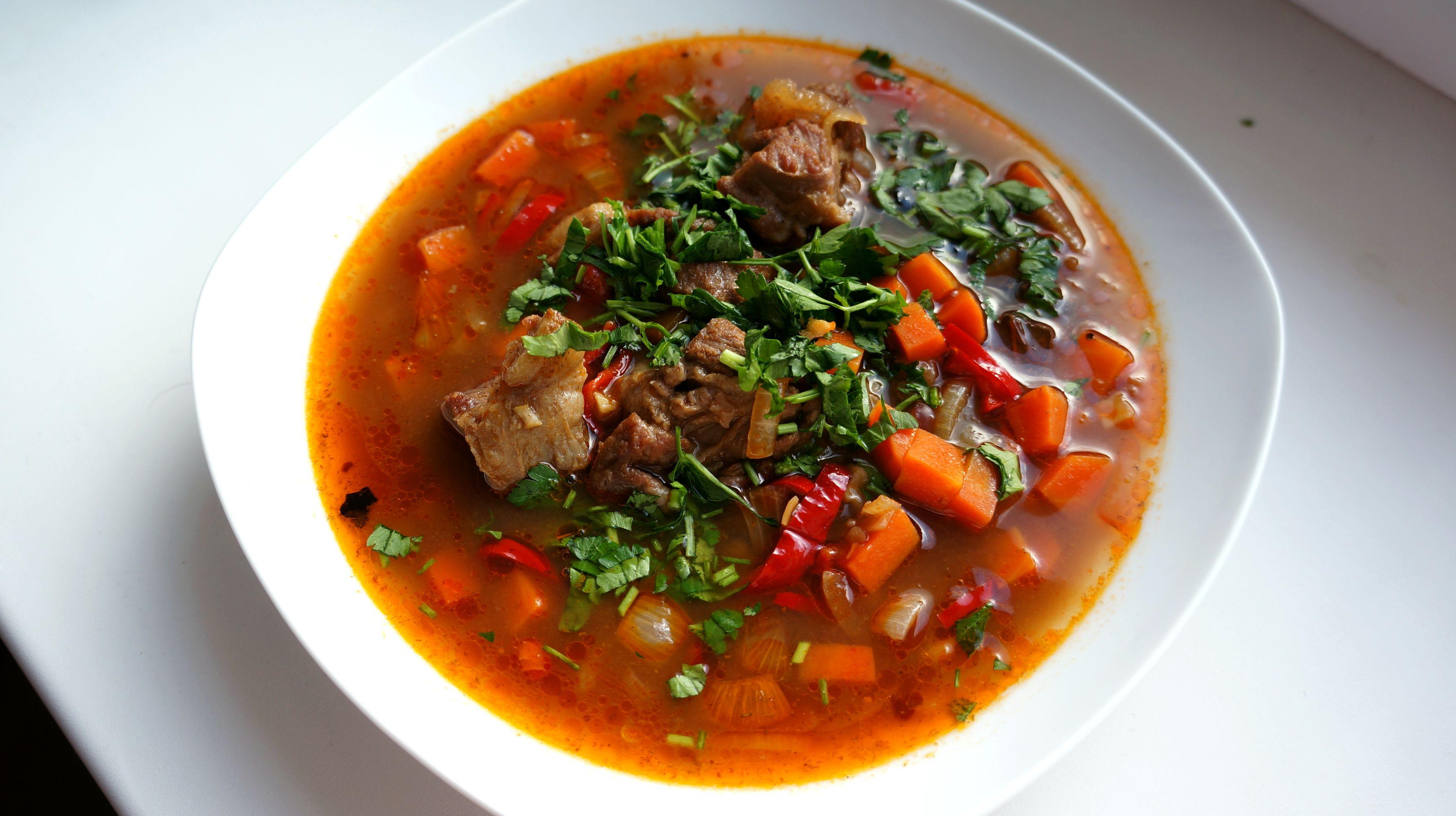 рецепты первых блюд из баранины с фото того