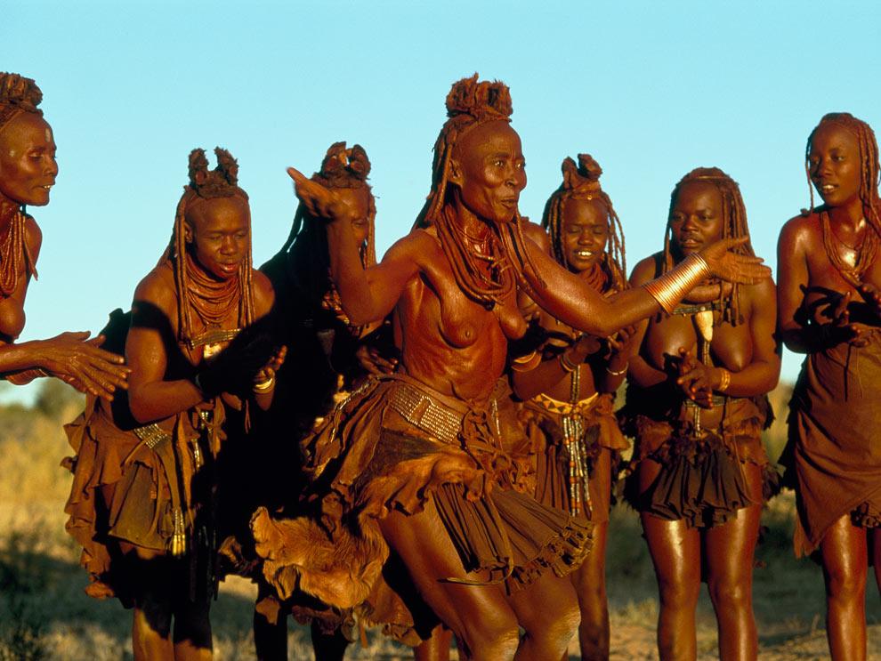Голые туземки африка